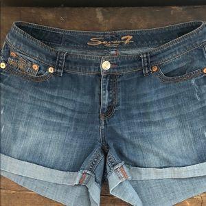 Seven Jeans Shorts Size 18 Cutoffs